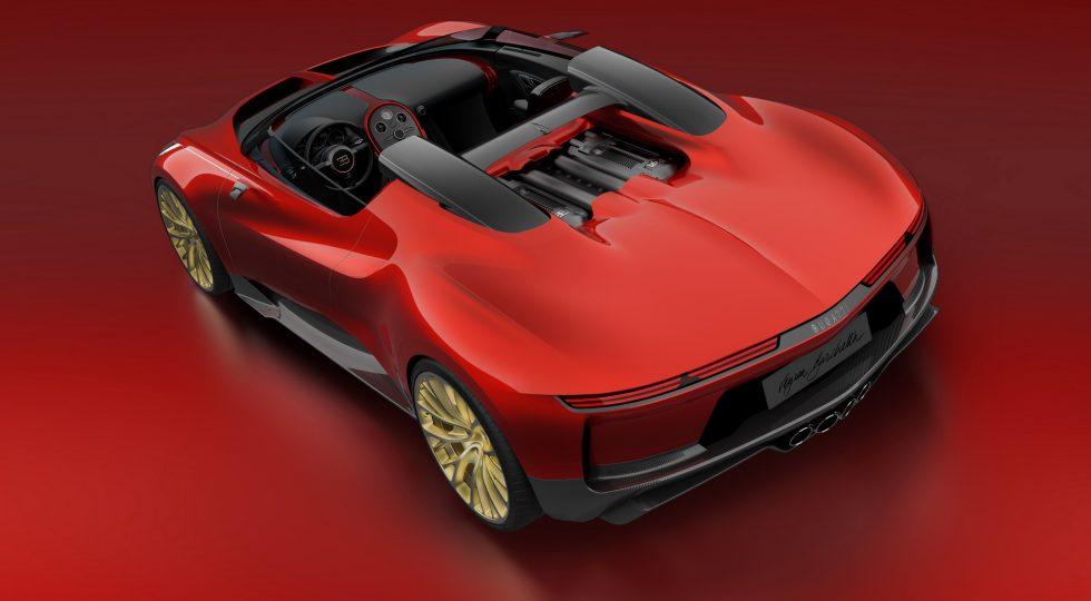 prototipos secretos Bugatti