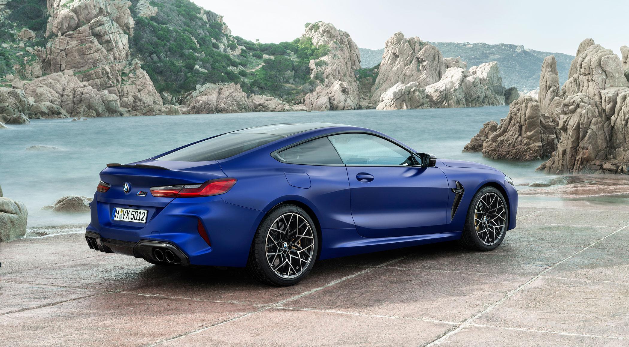La poderosa imagen del BMW M8