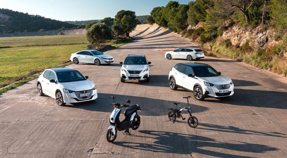 Peugeot electricos