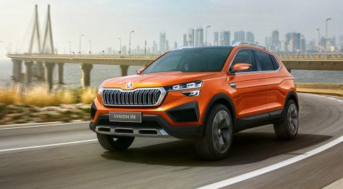 Vision IN, el SUV indio de Skoda que costará 9.000 euros