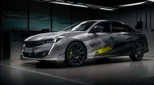 Peugeot presenta la versión más atrevida del 508