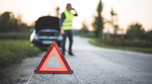 Por qué no siempre debes colocar los triángulos de emergencia