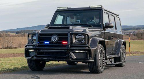 Mansory convierte el Mercedes Clase G en un vehículo blindado