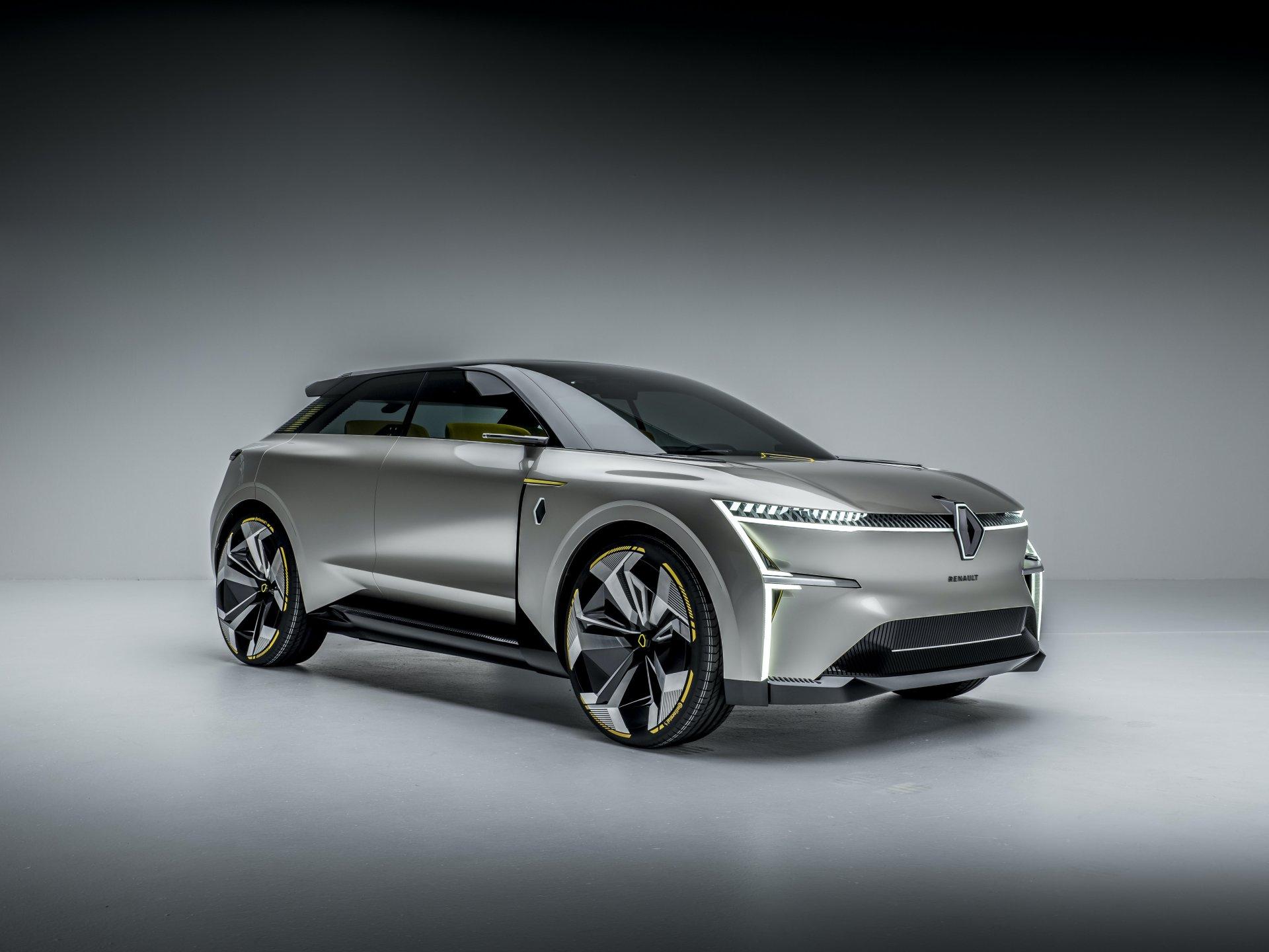Renault Morphoz, un SUV eléctrico que puede cambiar de tamaño