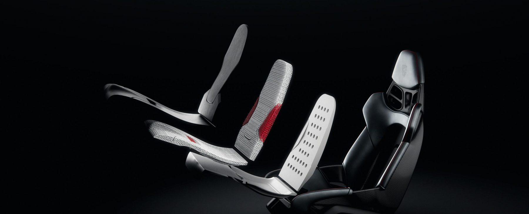 asiento impreso en 3D