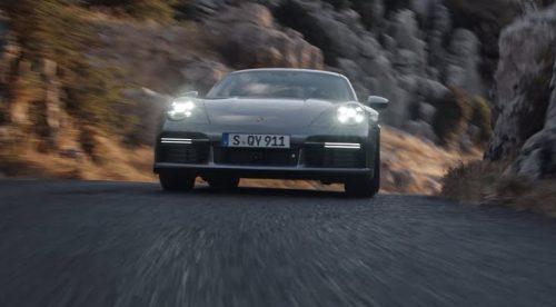 El Porsche 911 Turbo S se muestra al detalle