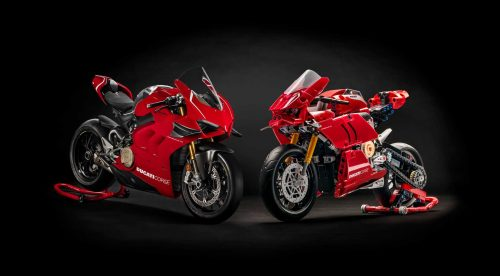 La Ducati Panigale V4 R ya tiene versión de Lego