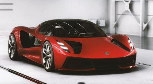 El hiperdeportivo Lotus Evija se muestra con todo lujo de detalles