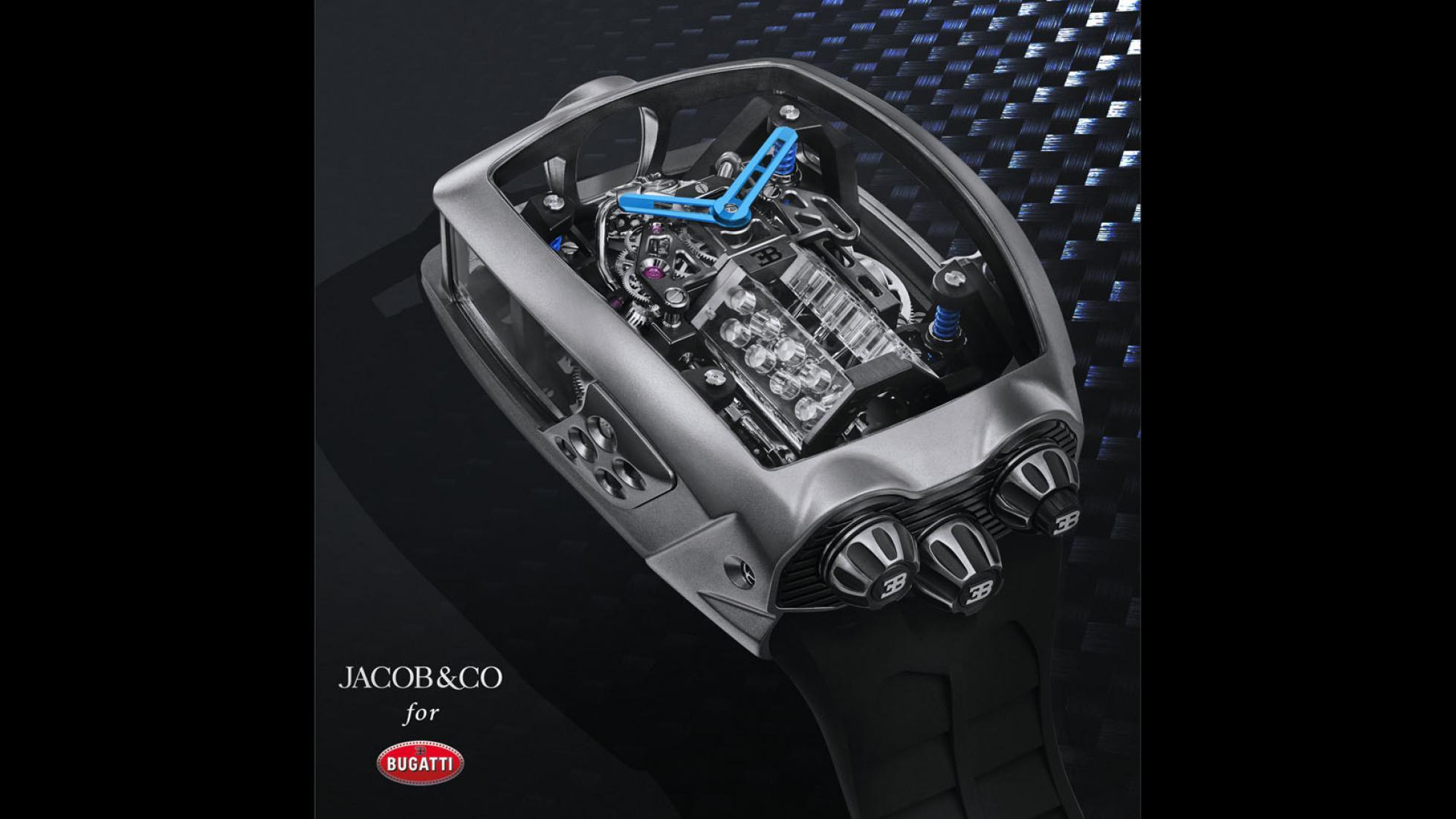 Bugatti Chiron 16 Cylinder Tourbillon