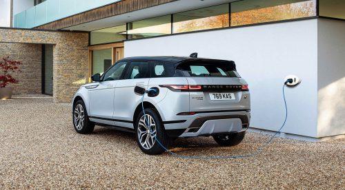 El Range Rover Evoque, ahora enchufable y con etiqueta Cero