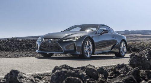 Lexus actualiza el LC para mejorar su comportamiento