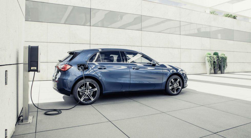 Mercedes Clase A hibrido enchufable