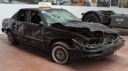 El Audi V8 del atentado contra Aznar sale a subasta