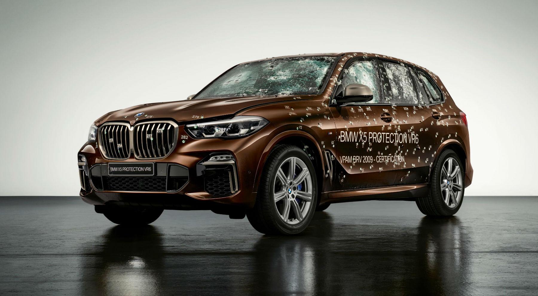 Este BMW X5 blindado es una caja fuerte sobre ruedas   Actualidad   Motor EL PAÍS