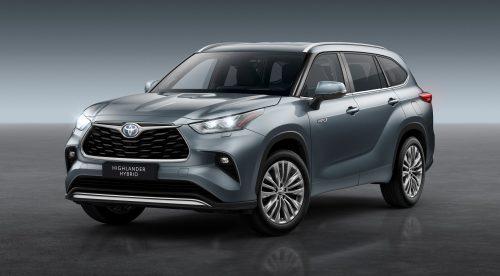 El Toyota Highlander llegará a Europa como SUV híbrido