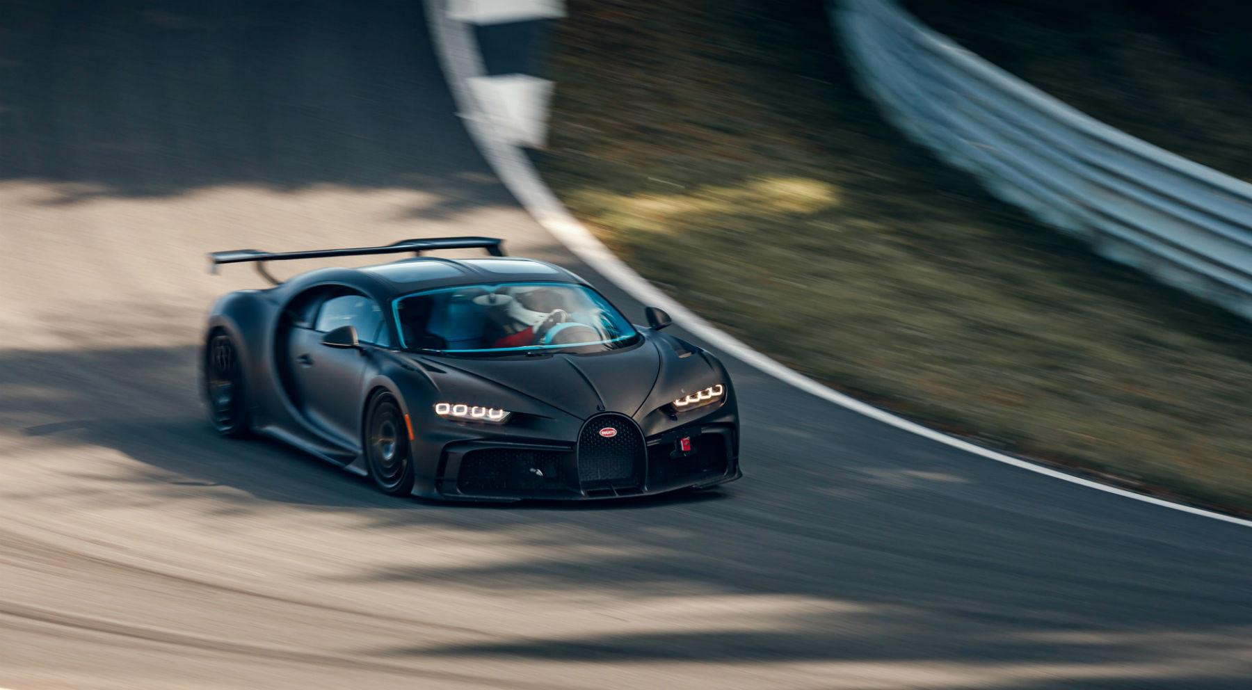 El Bugatti Chiron Pur Sport se pone a prueba en circuito   Supercoches   Motor EL PAÍS