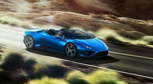 Lamborghini muestra el poderío del Huracán descapotable
