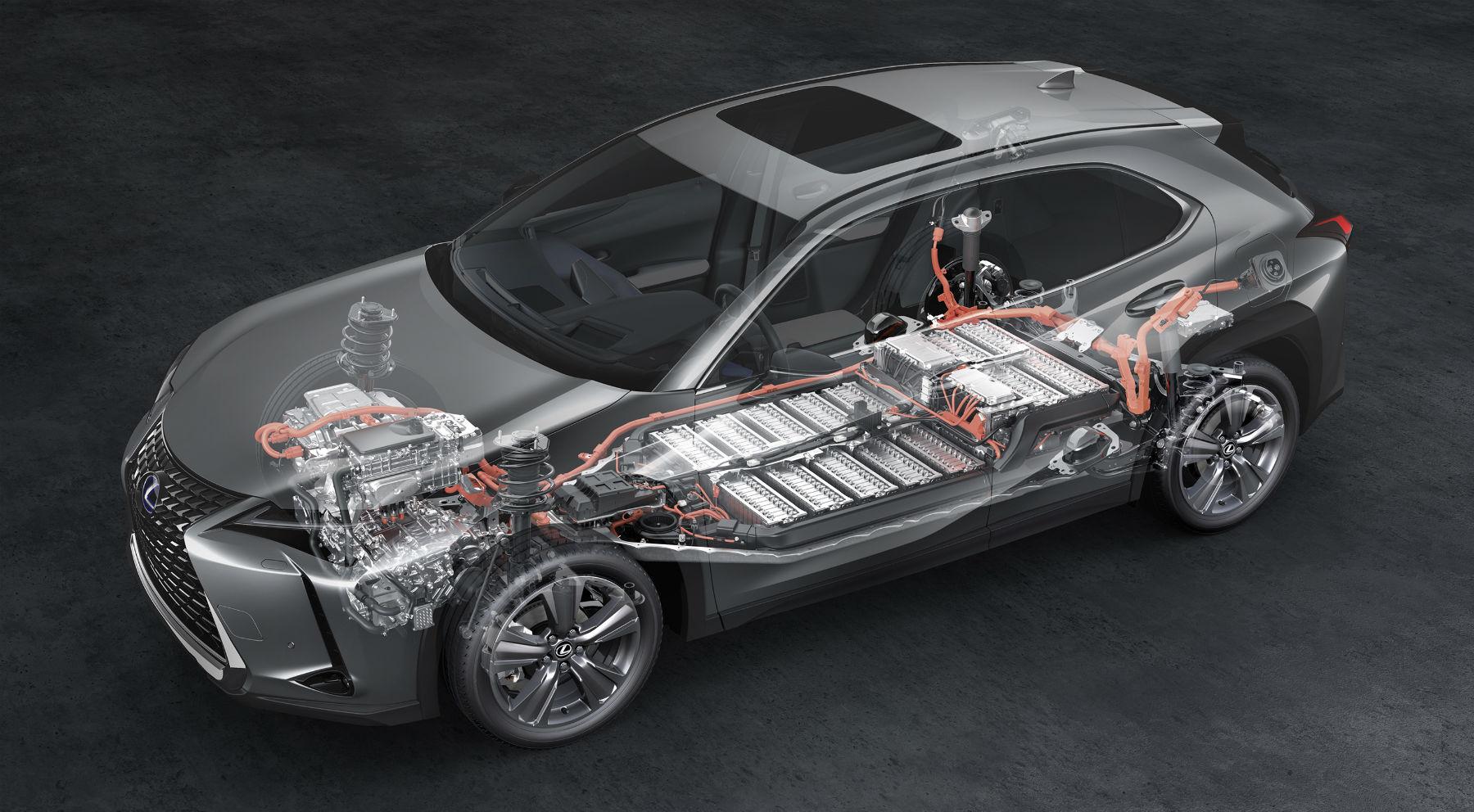 La batería del UX eléctrico promete un millón de kilómetros de vida   Eléctricos   Motor EL PAÍS