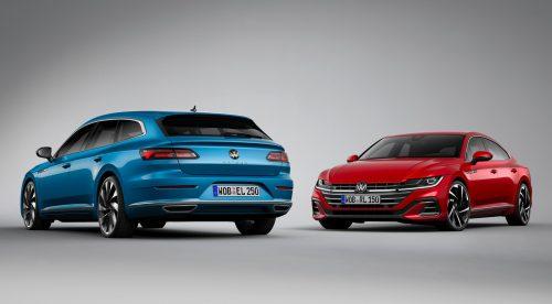 El Volkswagen Arteon estrena una versión híbrida enchufable de 218 CV