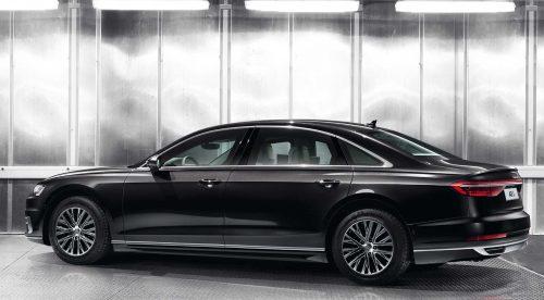 El Audi A8 L que soporta ataques con granadas de mano