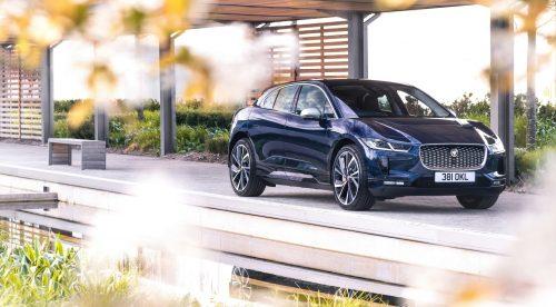 El Jaguar I-Pace se recarga más rápido y mejora en conectividad