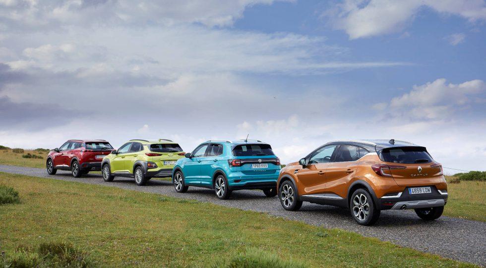Cuatro SUV pequeños populares, en imágenes