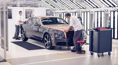 El adiós del Bentley Mulsanne después de una década y 7.300 unidades
