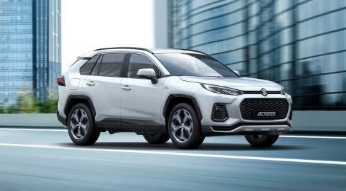 Suzuki estrena el Across, un gran SUV híbrido enchufable