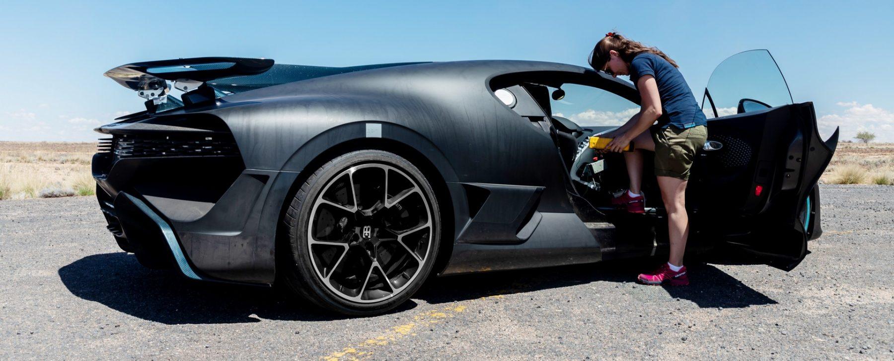 Bugatti Chiron aire acondicionado