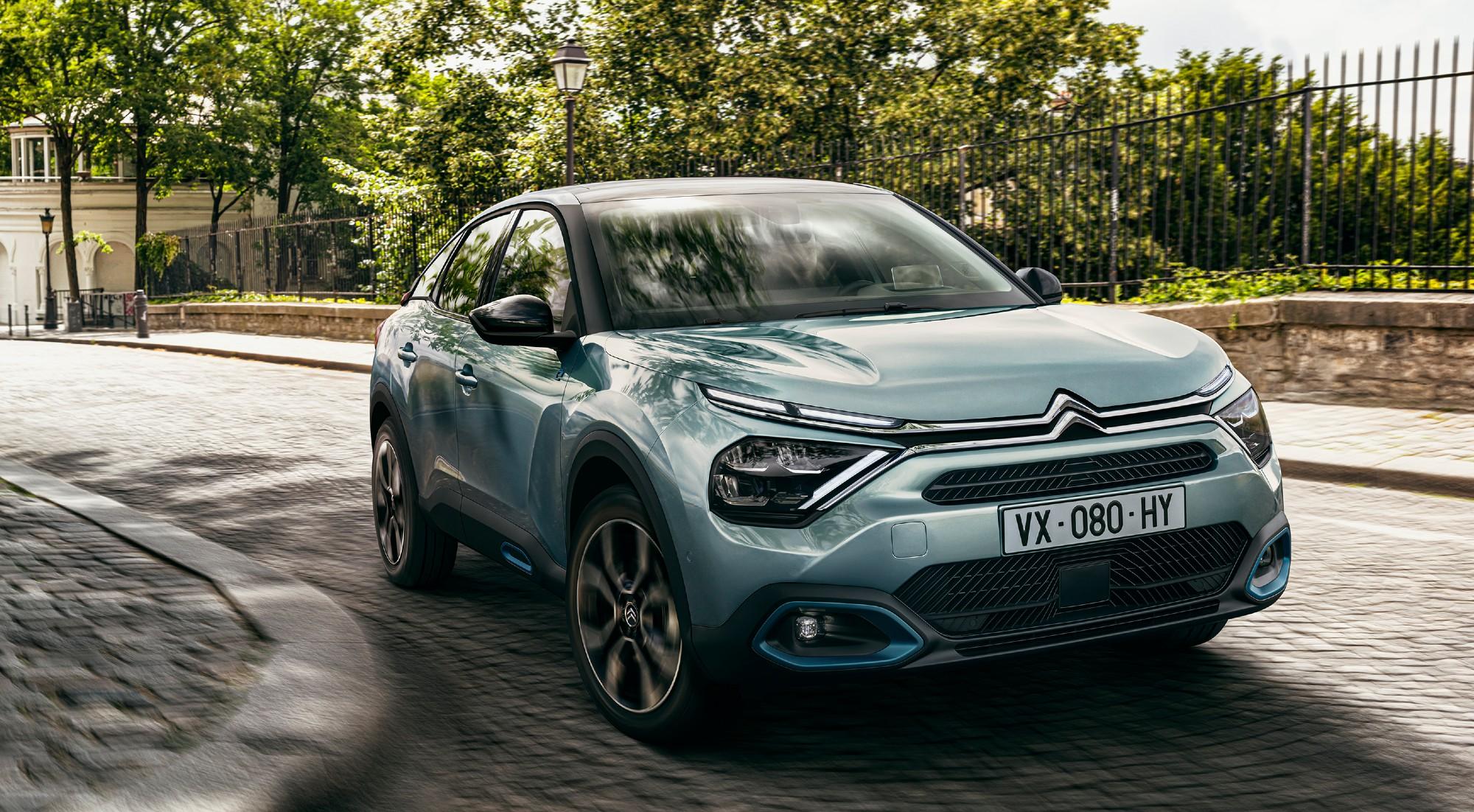 Todas las imágenes del nuevo Citroën C4 eléctrico