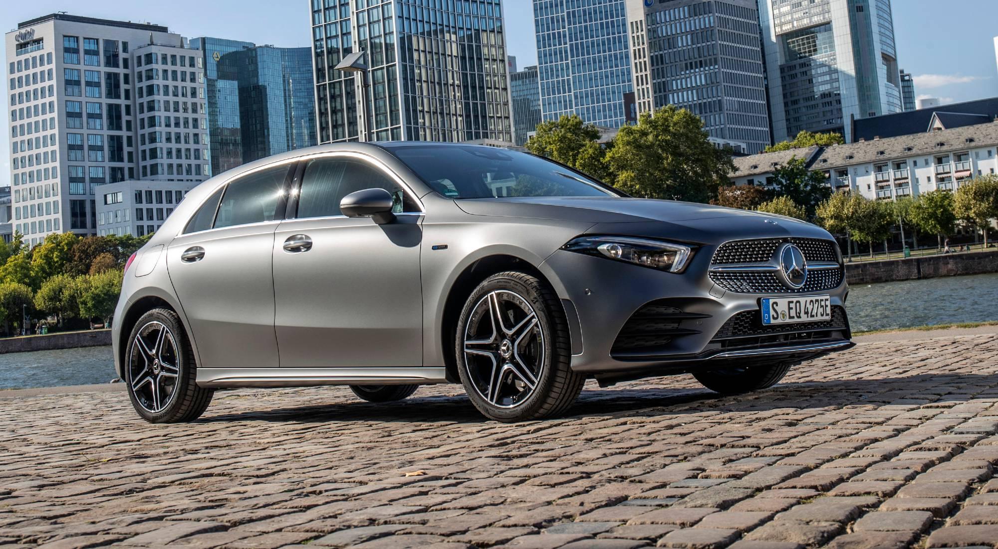 El nuevo Mercedes Clase A híbrido enchufable, en imágenes
