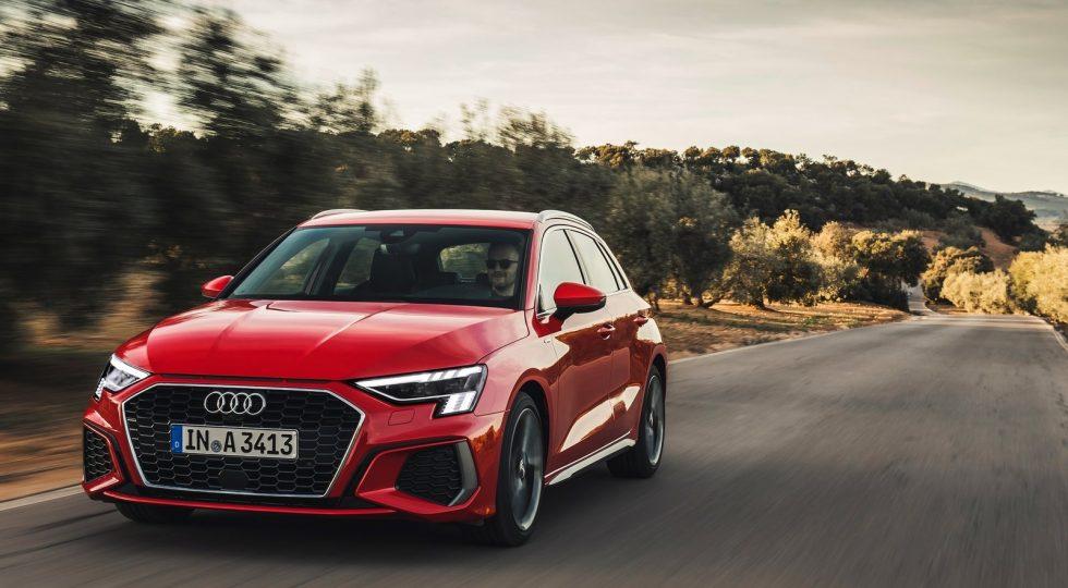 La conducción sedosa del Audi A3
