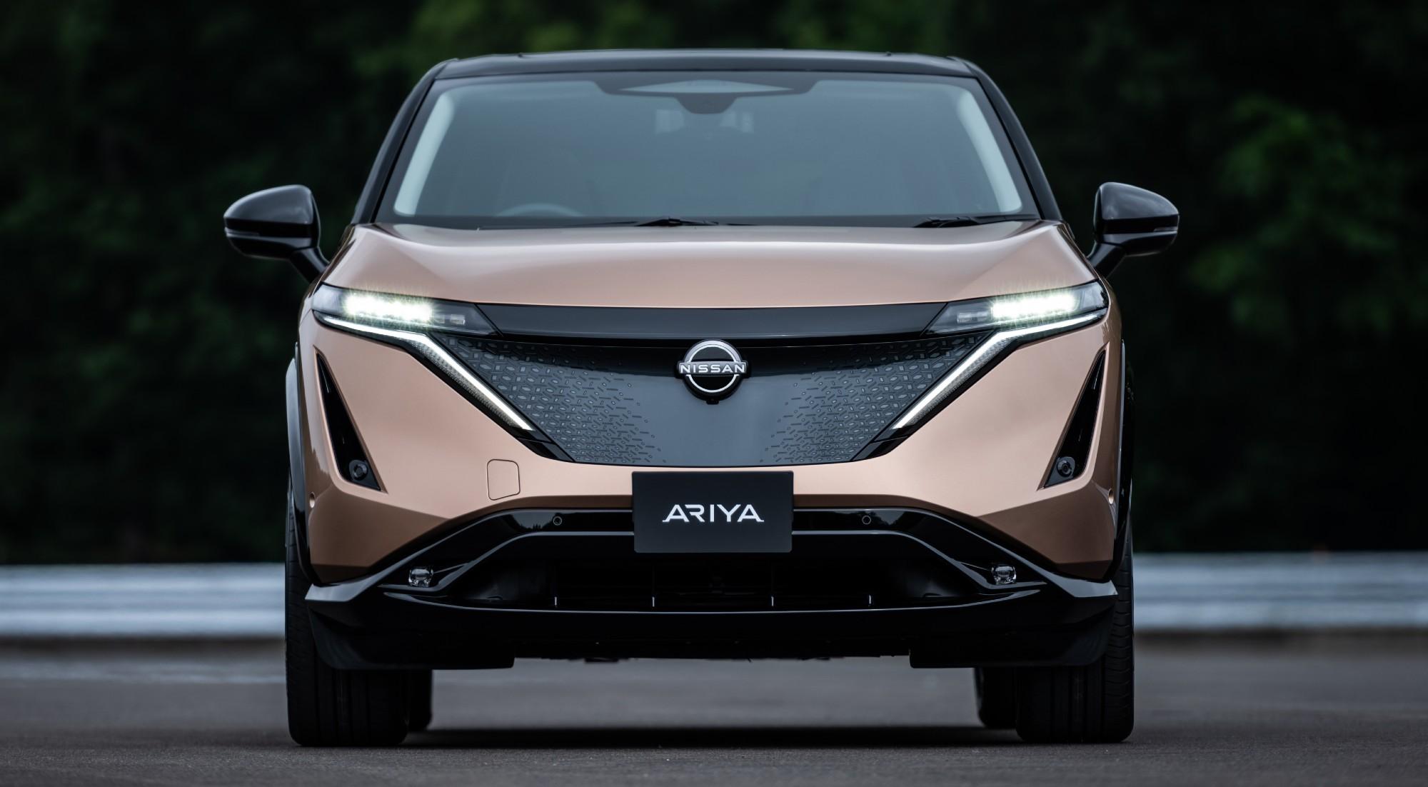 Todas las imágenes del Ariya, el nuevo SUV eléctrico de Nissan