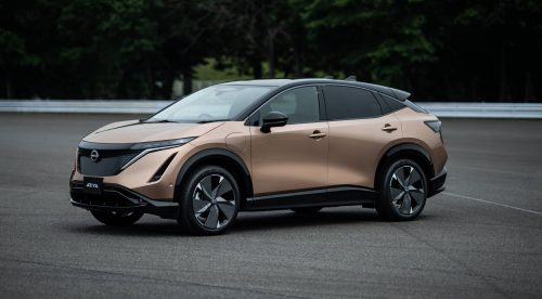 Nissan Ariya, un SUV eléctrico con carrocería cupé