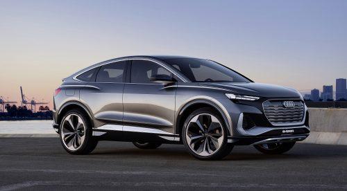 Q4 Sportback e-tron, el nuevo SUV eléctrico de Audi