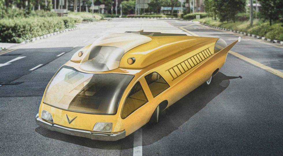vehículos del futuro imaginados en el pasado