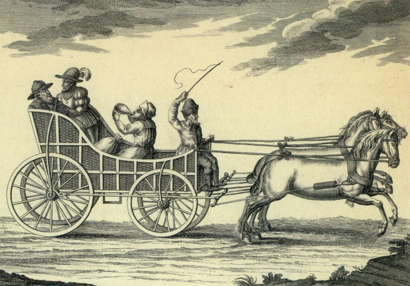 De los carruajes a los automóviles