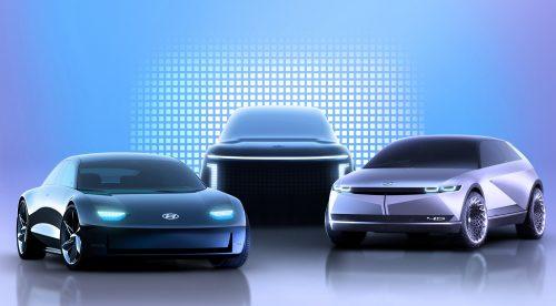 Hyundai presenta la nueva familia de coches eléctricos Ioniq