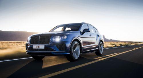 Los cambios del Bentley Bentayga Speed, el SUV más rápido del mundo