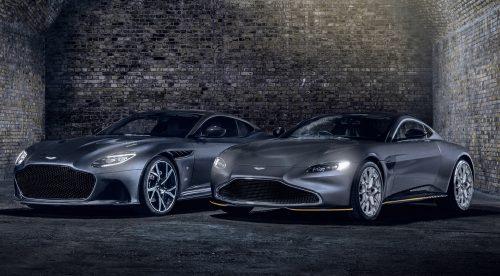 Aston Martin crea dos ediciones limitadas en honor a James Bond