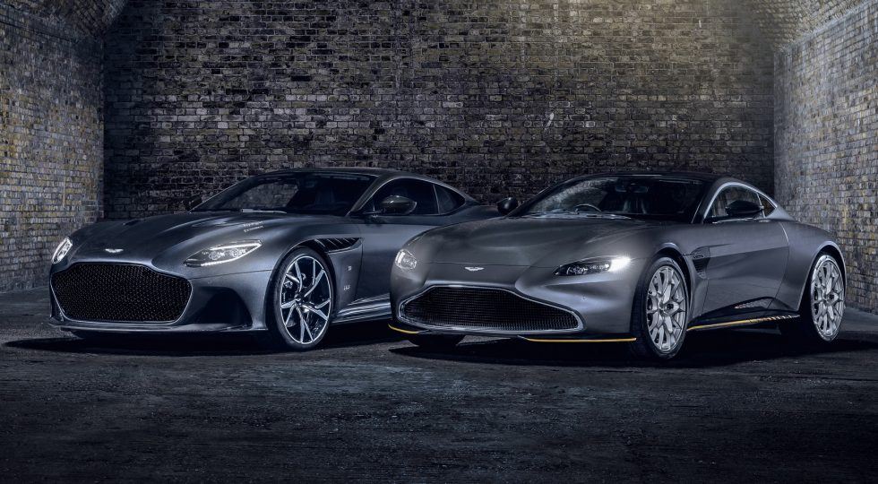 Aston Martin DBS Superleggera y Vantage 007 Edition