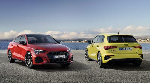 Diseño agresivo y 310 CV para los Audi S3 Sportback y Sedán