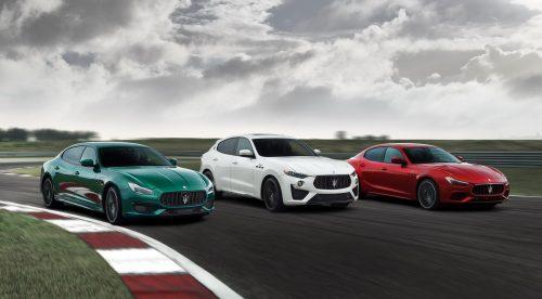 Maserati Ghibli y Quattroporte, ahora en versiones Trofeo de 580 CV