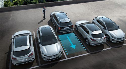 Cómo puedes aparcar el Kia Sorento manejándolo con la llave