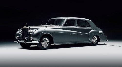 Dos modelos clásicos de Rolls-Royce, reconvertidos en coches eléctricos