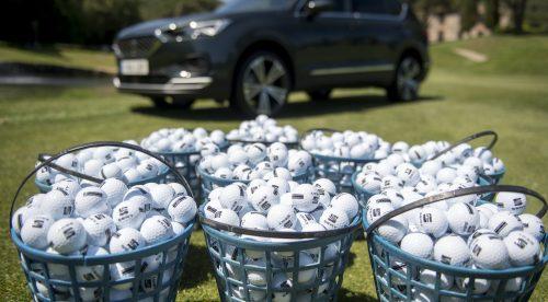 ¿Cuántas bolas de golf entran en el maletero del Seat Tarraco?