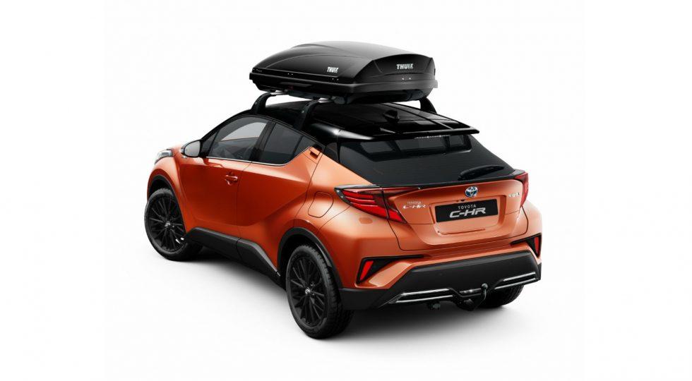 Las más de 70 opciones de personalización del Toyota C-HR