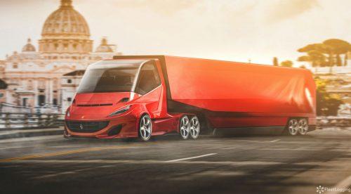 ¿Y si Ferrari, Lamborghini o McLaren fabricasen camiones?