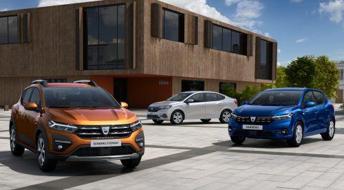 Dacia muestra la tercera generación de sus 'low-cost' Sandero y Logan