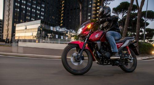 La nueva Honda CB125F es más ligera y tiene un motor más competente